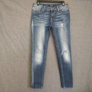 Vigoss The jagger Skinny Leg Jeans Destroyed